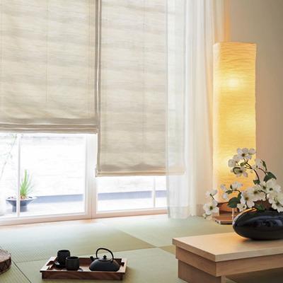 和室の窓 プレーンシェード