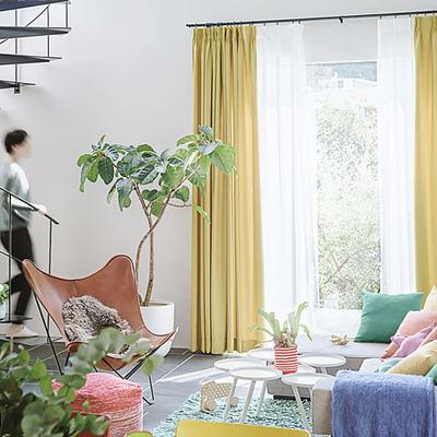 カレーパレットから選ぶカーテン